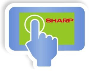 e-terminal SHARP png