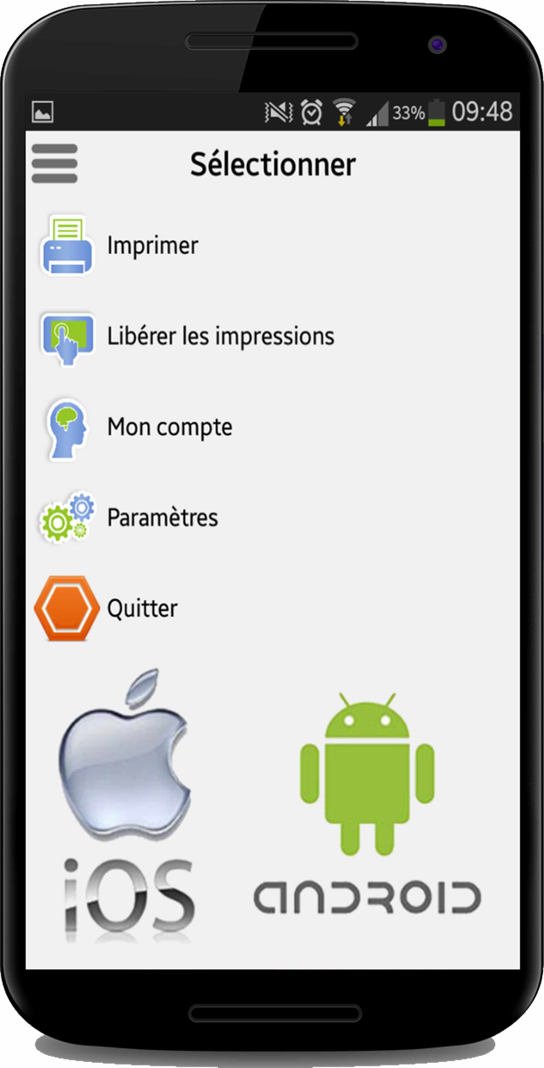Application Gespage Adnroid iOS