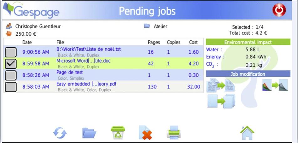 EN pending jobs