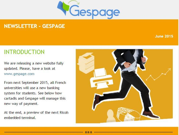 Newsletter Gespage June 2015